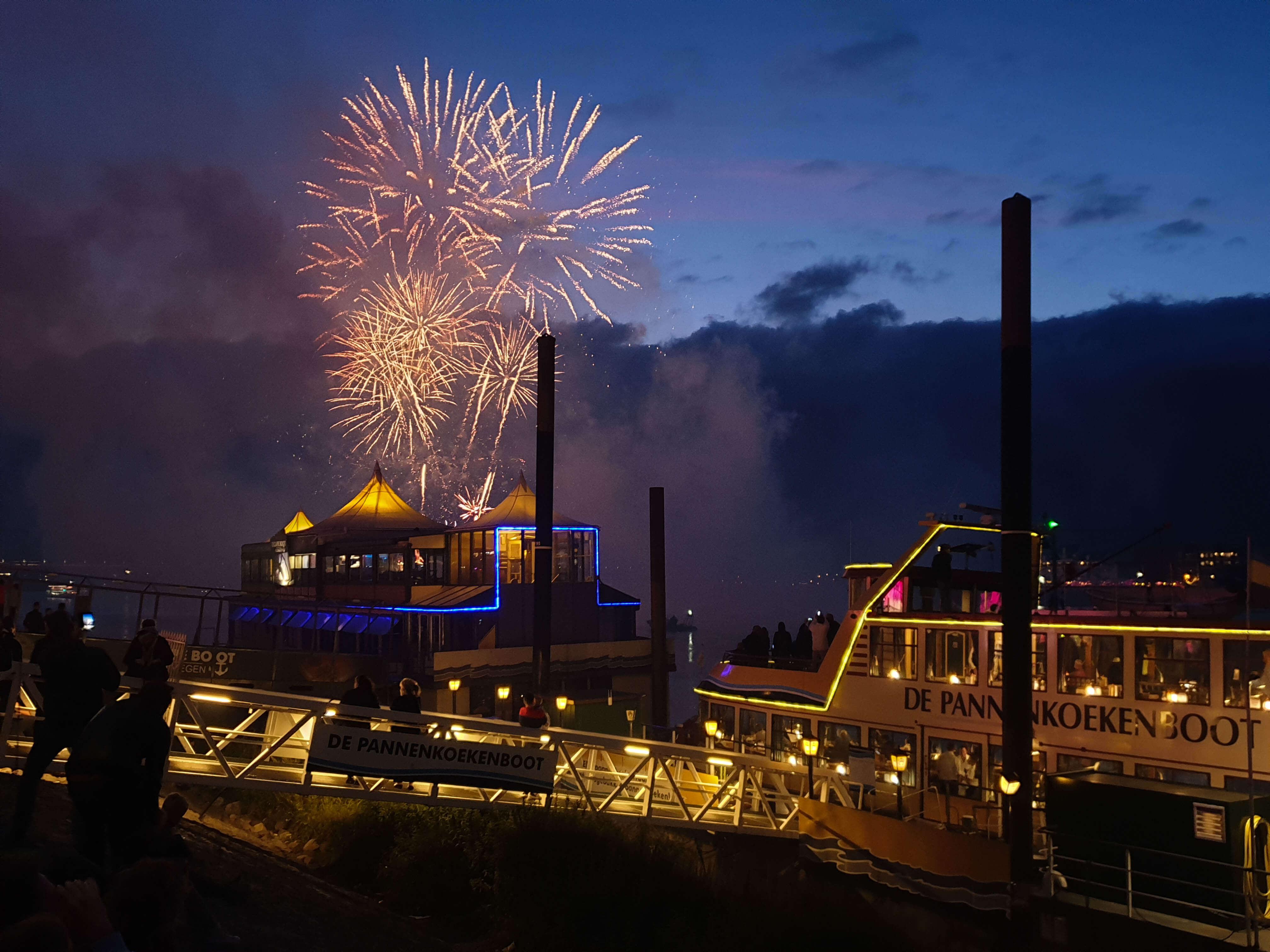 Vuurwerk vierdaagsefeesten Nijmegen