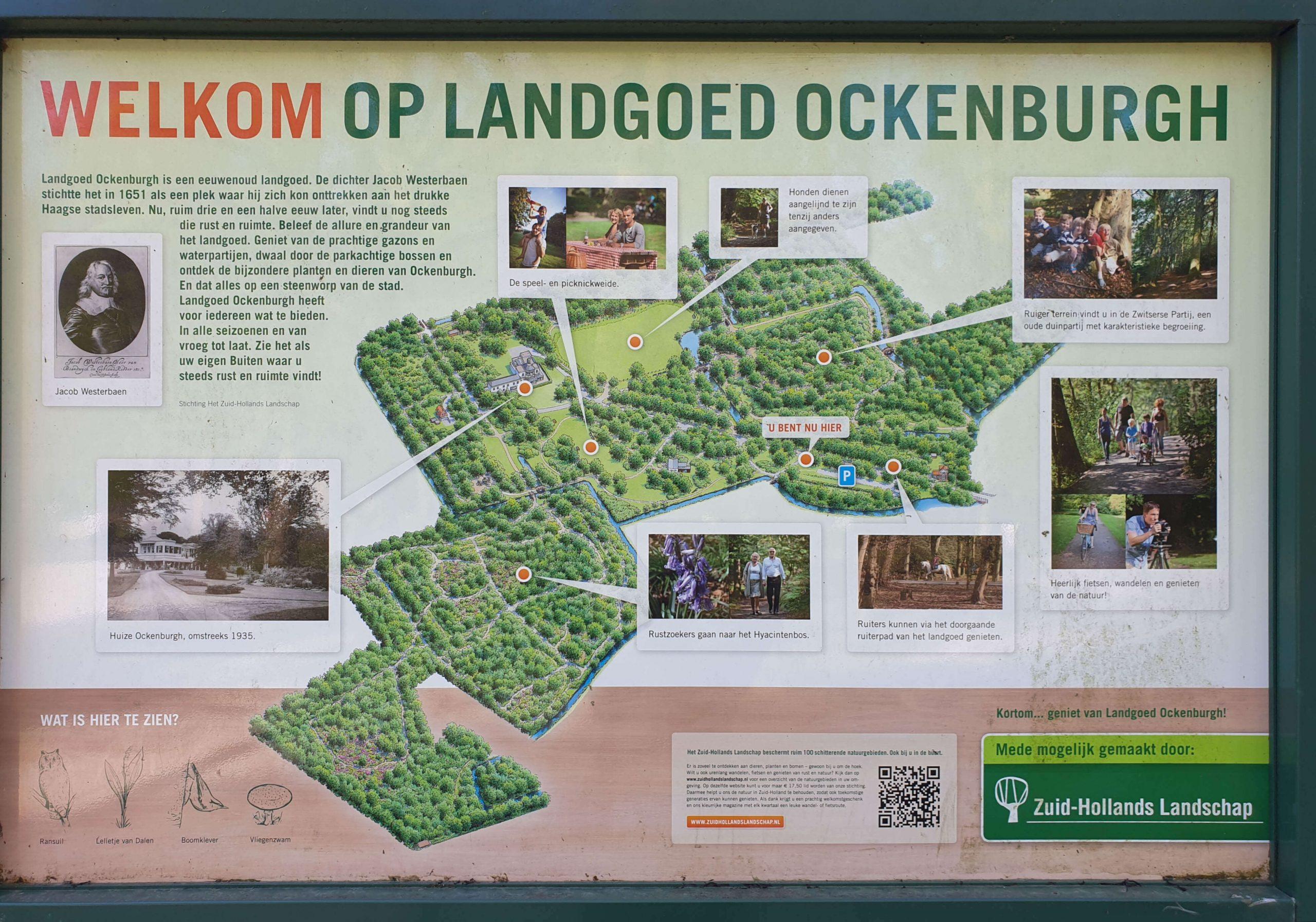Wandelen Landgoed Ockenburgh Den Haag
