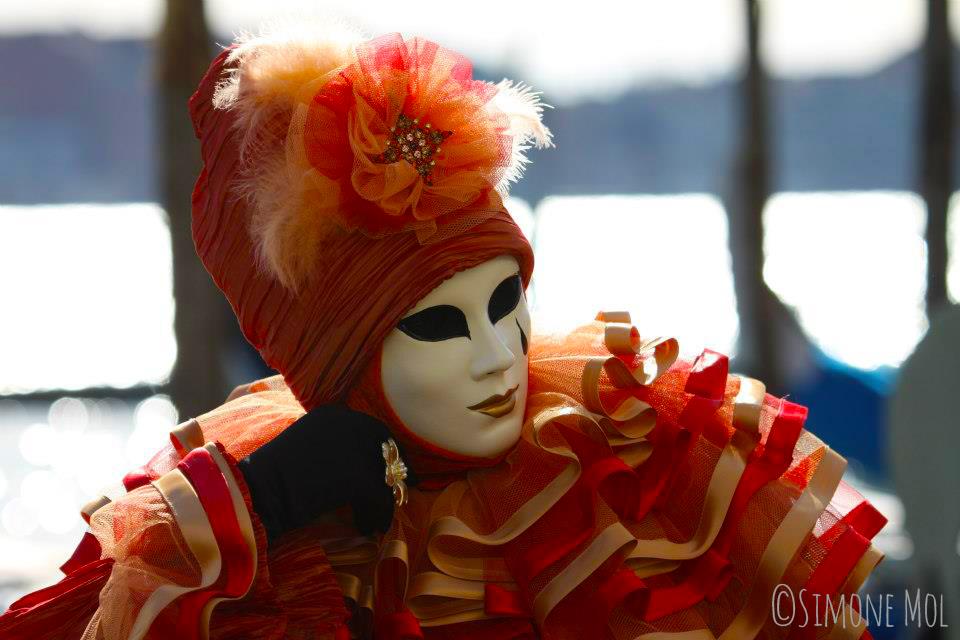 Dress up als Venetiaanse tijdens Carnaval Venetië