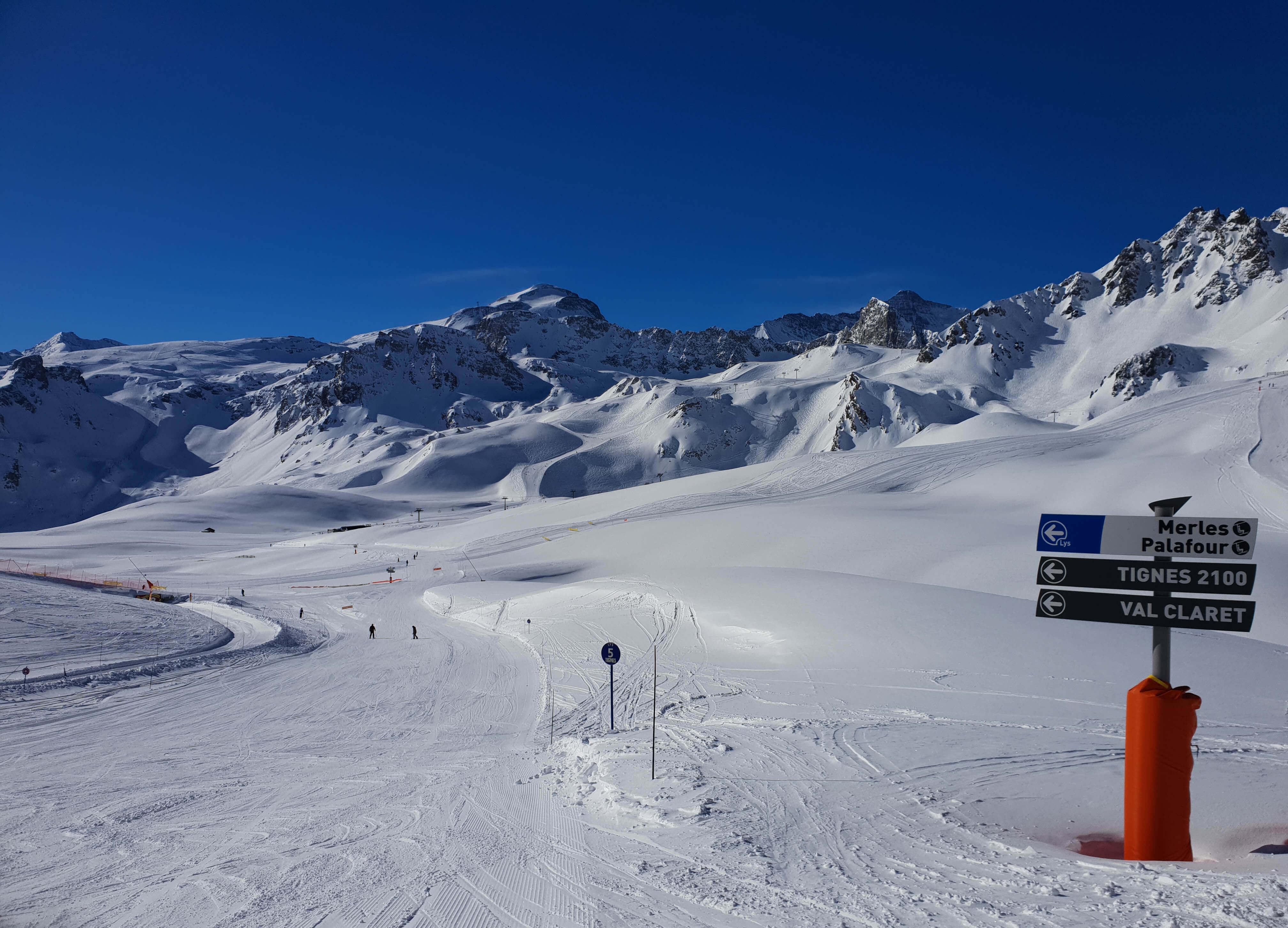 Weer in Tignes, sneeuwhoogte en webcam