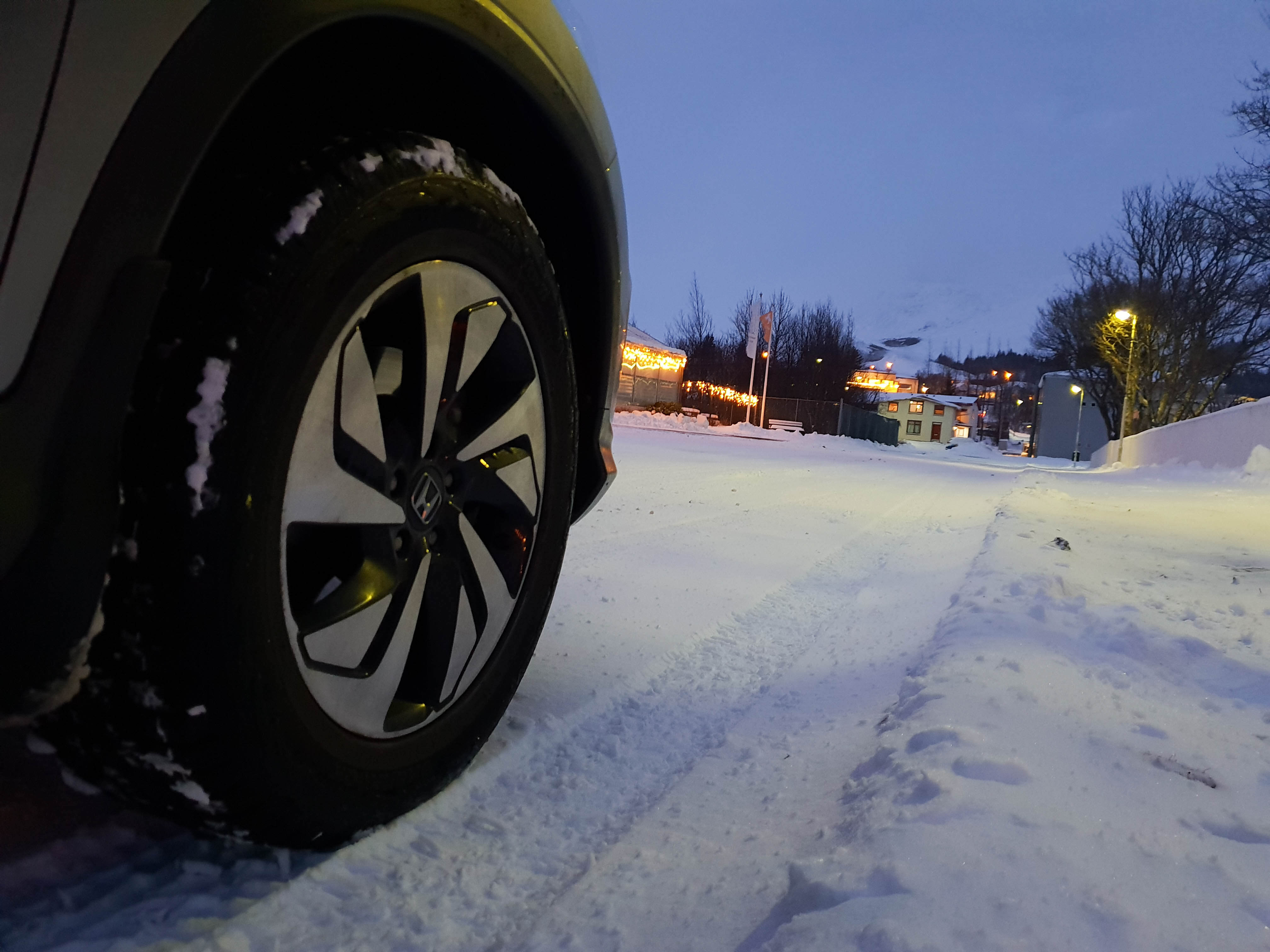 Nut van winterbanden voor wintersport