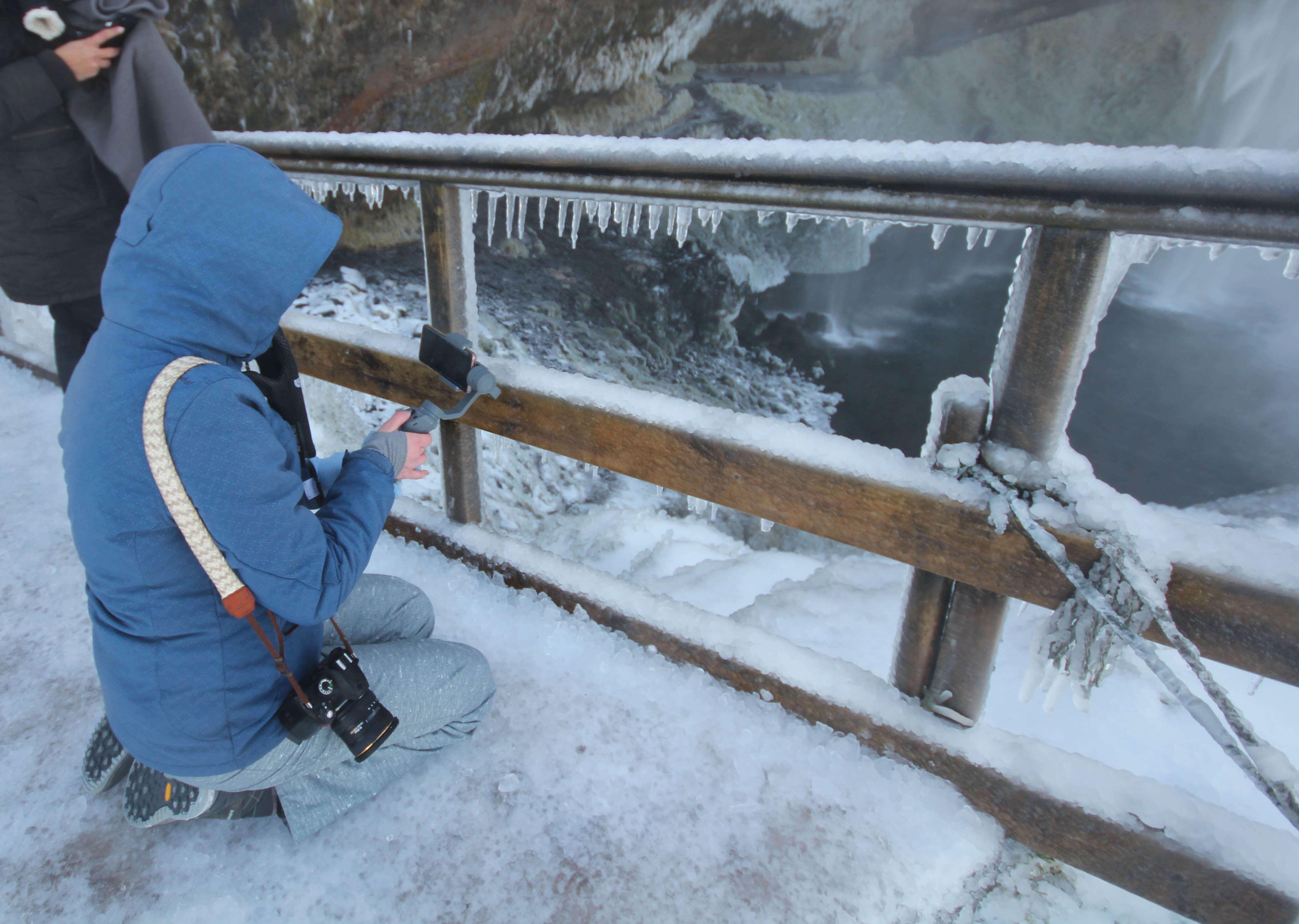 Winter kleding IJsland